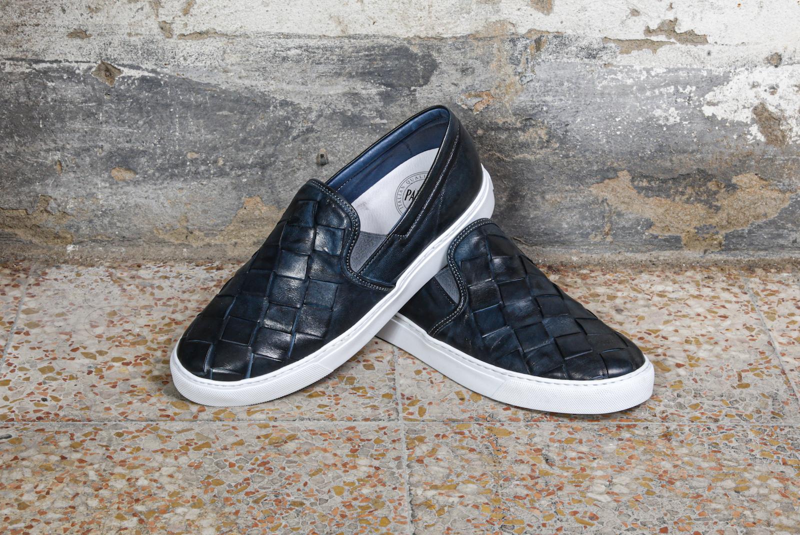 scarpe-slip-on-treccia-blu-pawelks