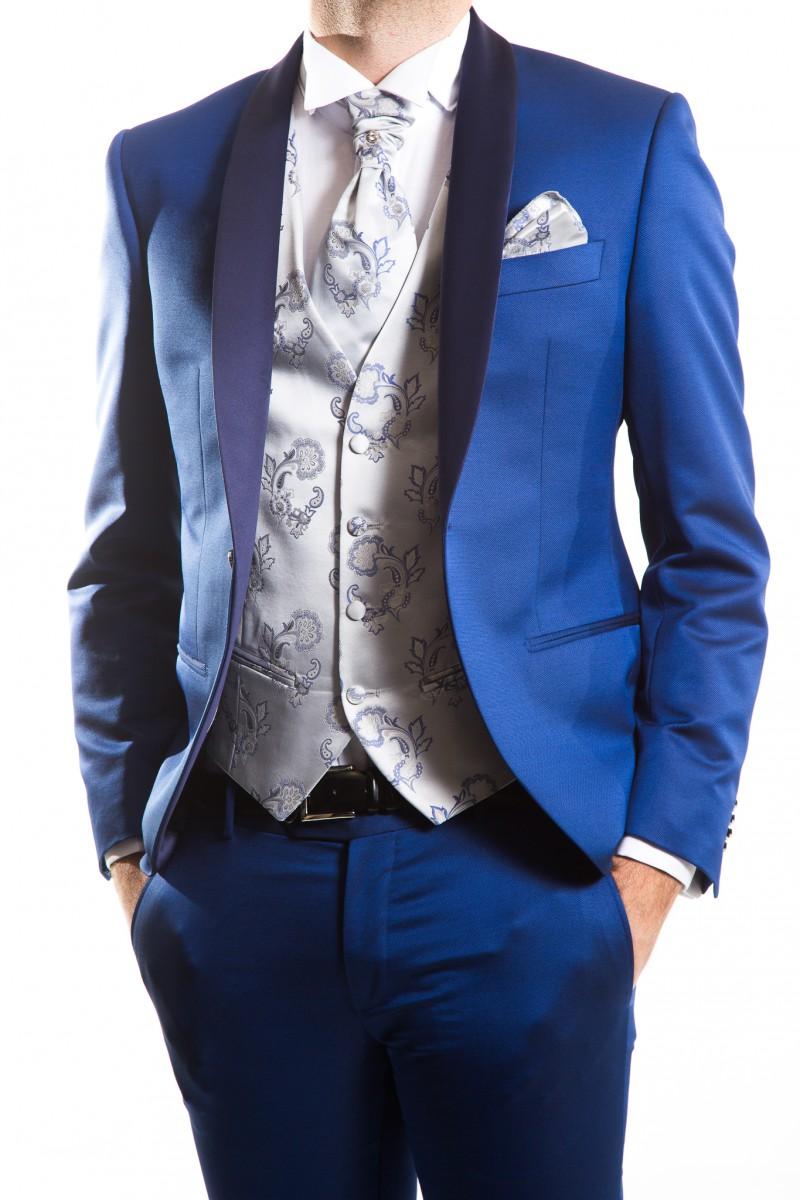 Vestito Matrimonio Uomo Blu Elettrico : Abiti da cerimonia per lo sposo cecchi prato