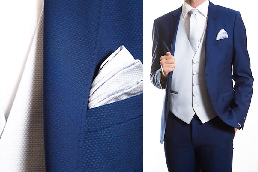 Piegare Pochette Uomo Matrimonio : Matrimonio il look perfetto per testimoni invitati