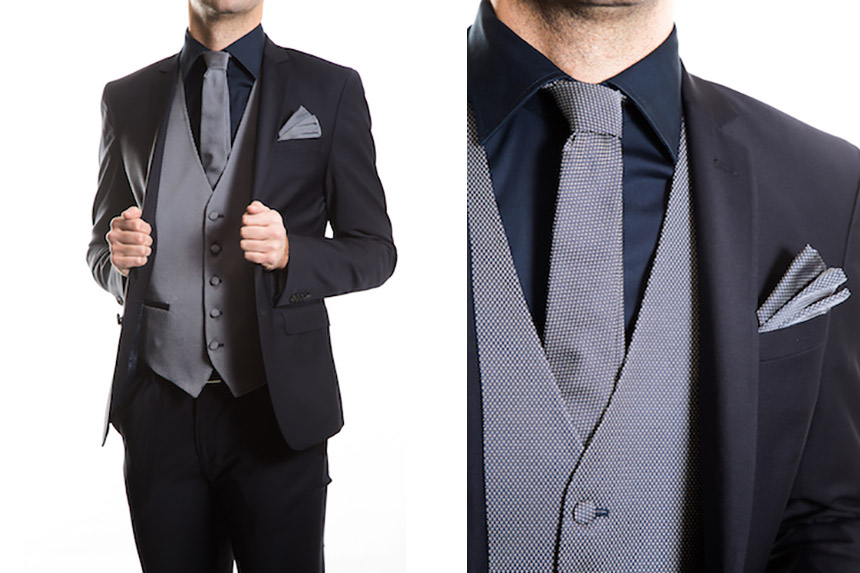Vestito Matrimonio Uomo Vintage : Abito completo uomo sartoriale grigio scuro slim fit