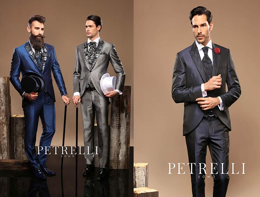 2dc3729eab97 Petrelli Uomo - vestiti da sposo, collezione 2017 - Cecchi Uomo