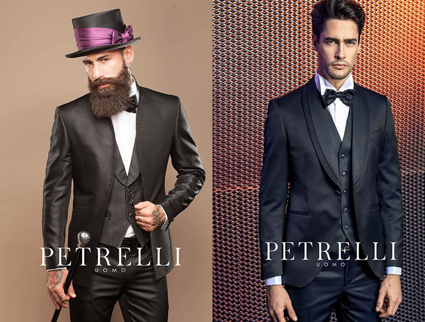 Vestito Matrimonio Uomo Viola : Petrelli uomo vestiti da sposo collezione cecchi
