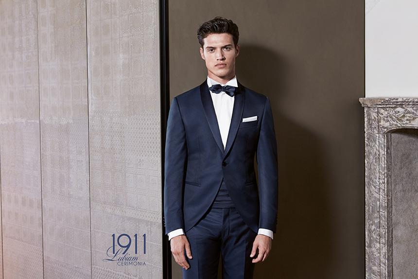 Vestito Matrimonio Uomo Nero : Abiti da sposo la moda uomo per il matrimonio della p e
