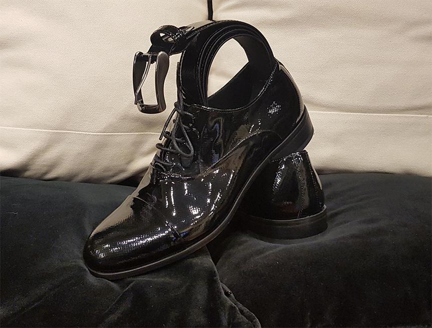 scarpe-vernice-nera-vendita-Prato